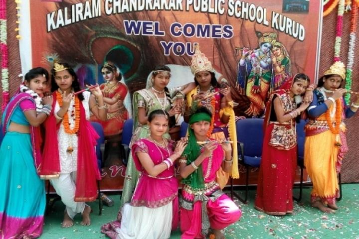 Kaliram Chandrakar Public School-krishnastami