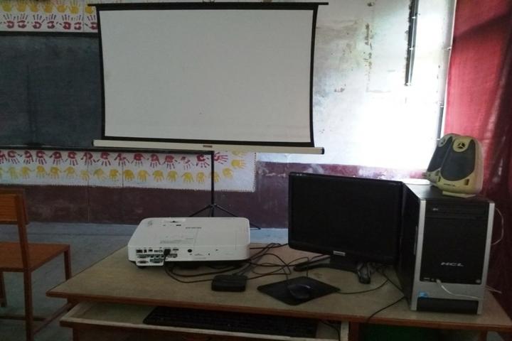 KENDRIYA VIDYALAYA MANENDRAGARH-projector
