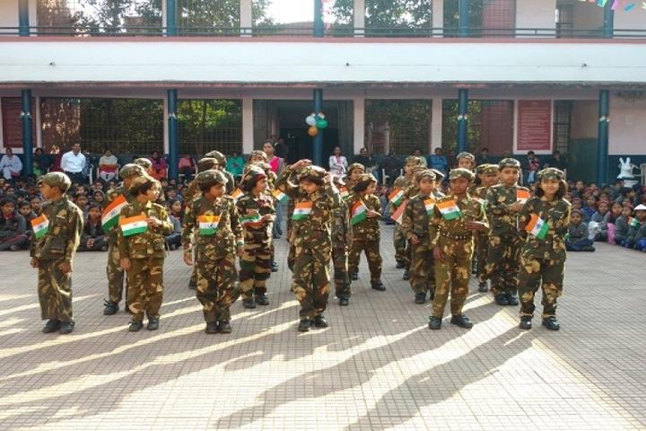 Kendriya Vidyalaya Raigarh-Republic day