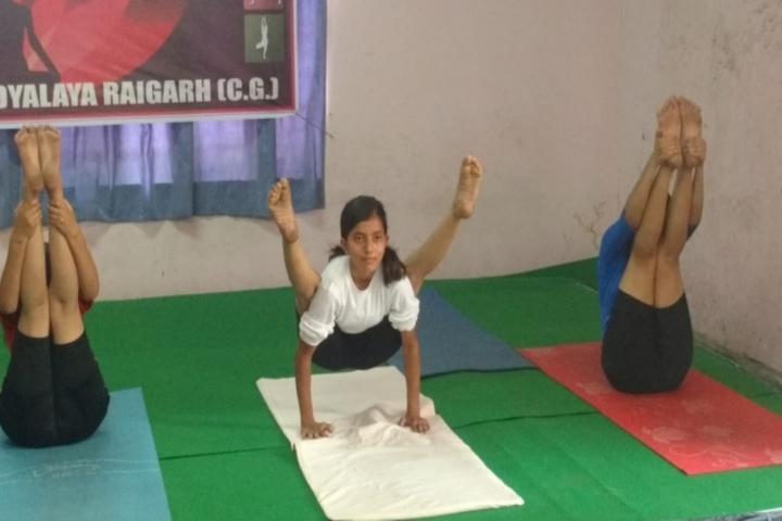 Kendriya Vidyalaya Raigarh-Yoga
