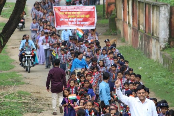 Kendriya Vidyalaya Jhagrakhand-Rally