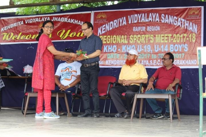 Kendriya Vidyalaya Jhagrakhand-Sports day
