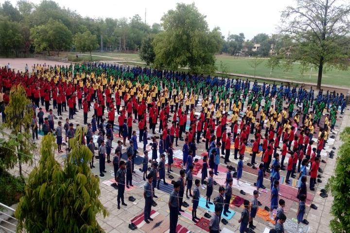 KENDRIYA VIDYALAYA, BILASPUR-yogaday
