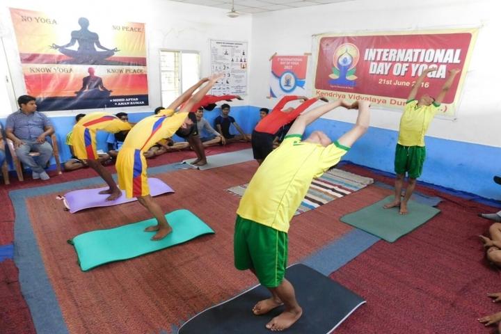 KENDRIYA VIDYALAYA DURG-yoga