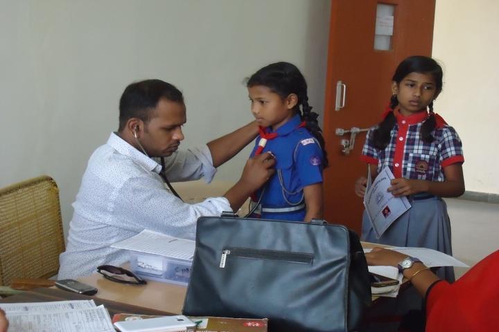 KENDRIYA VIDYALAYA DHAMTARI-medical checkup