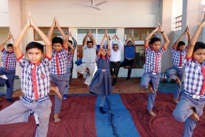 KENDRIYA VIDYALAYA DHAMTARI-yoga
