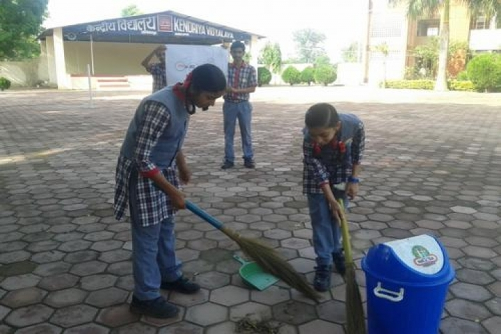 KENDRIYA VIDYALAYA AMBIKAPUR-cleaning