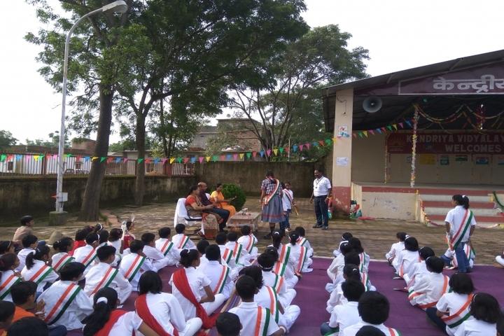 KENDRIYA VIDYALAYA AMBIKAPUR-independence day