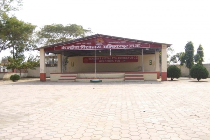 KENDRIYA VIDYALAYA AMBIKAPUR-stage