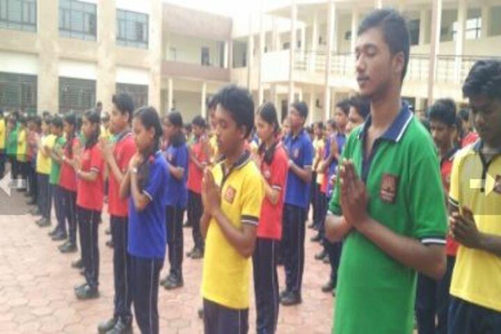 Kendriya Vidyalaya-School assembly