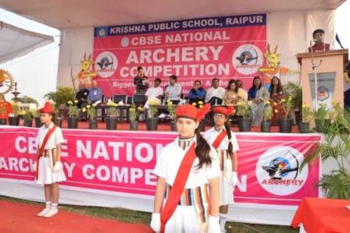 KRISHNA PUBLIC SCHOOL-Archery 1