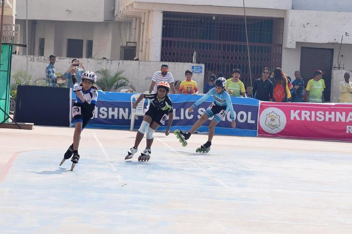 KRISHNA PUBLIC SCHOOL-skating