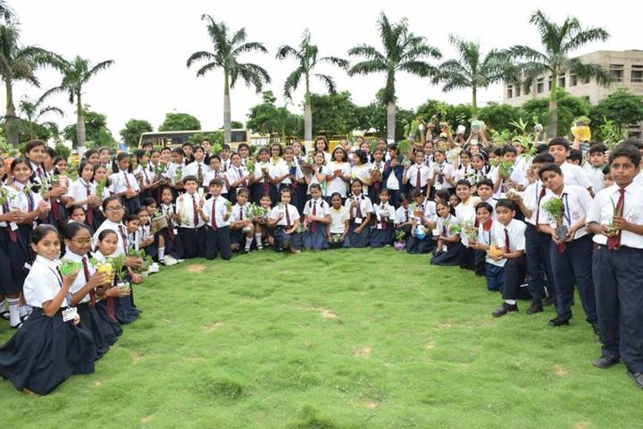 KRISHNA PUBLIC SCHOOL-tree plantation