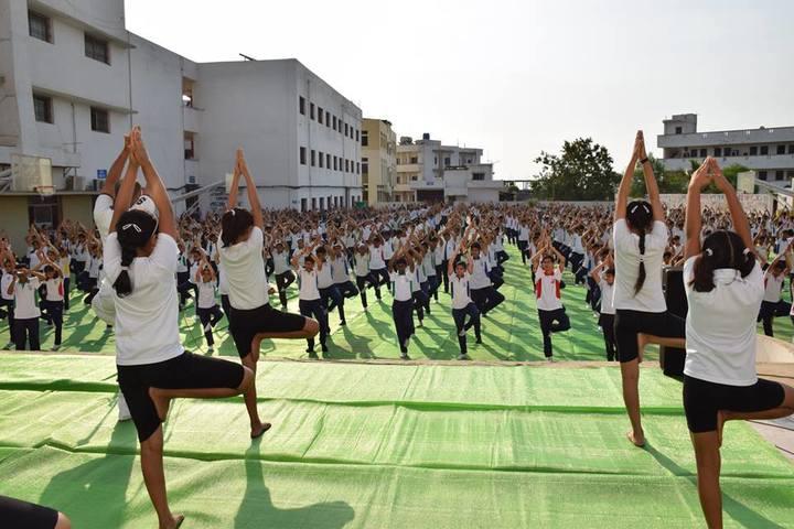 KRISHNA PUBLIC SCHOOL-yoga