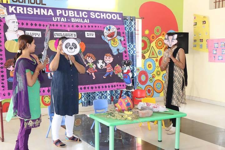 Krishna Public school-children day