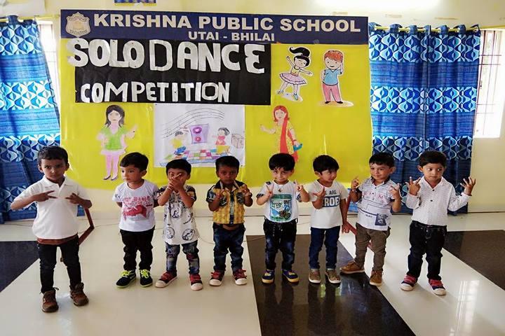 Krishna Public school-dance competition