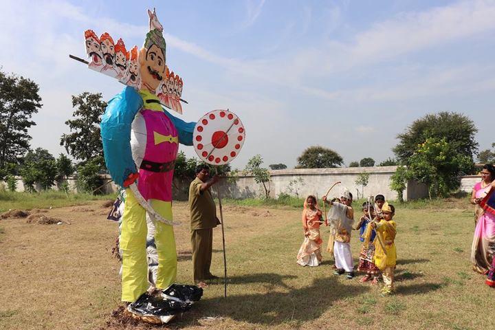 Krishna Public school-dusshera celebrations