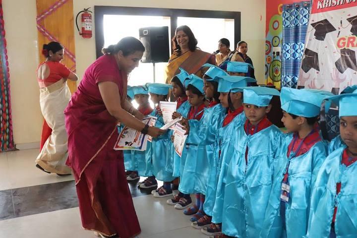 Krishna Public school-graduation day