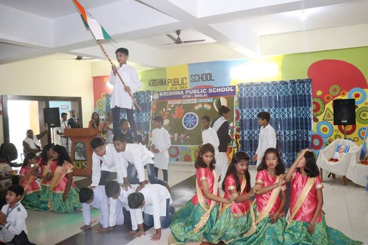 Krishna Public school-republic day