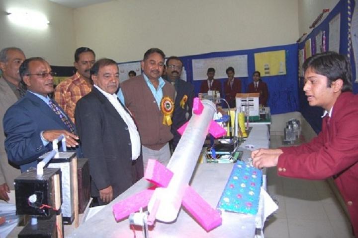 Krishna Public School-Science exhibition