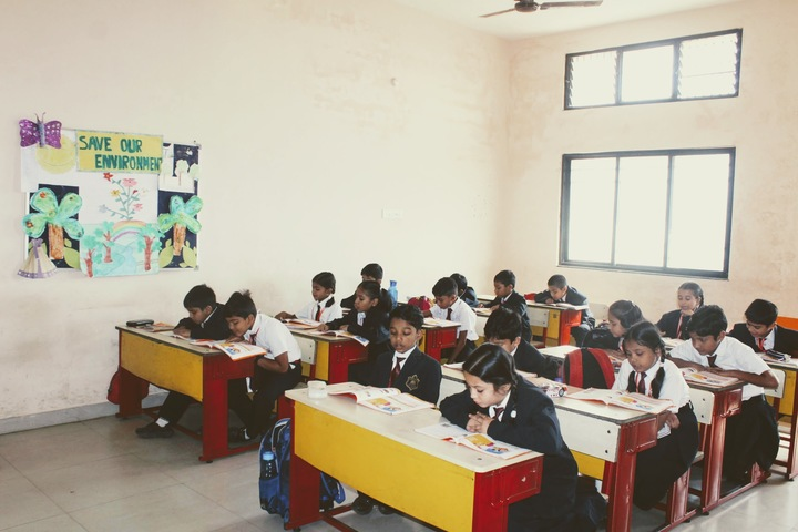 KRISHNA PUBLIC SCHOOL INTERNATIONAL-KG classroom