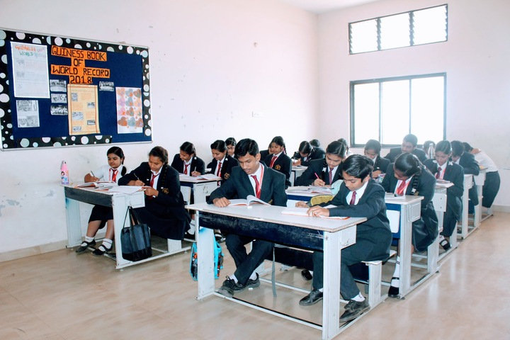 KRISHNA PUBLIC SCHOOL INTERNATIONAL-Senior classroom