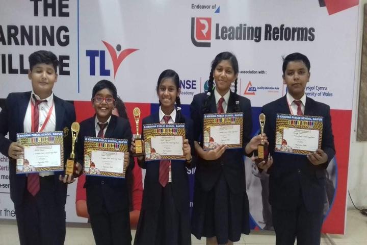 KRISHNA PUBLIC SCHOOL INTERNATIONAL-awards
