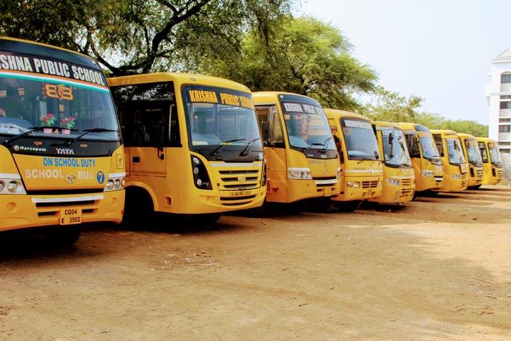 KRISHNA PUBLIC SCHOOL INTERNATIONAL-bus transport