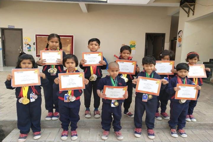 KRISHNA PUBLIC SCHOOL,BILASPUR-award