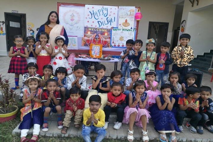 KRISHNA PUBLIC SCHOOL,BILASPUR-diwali