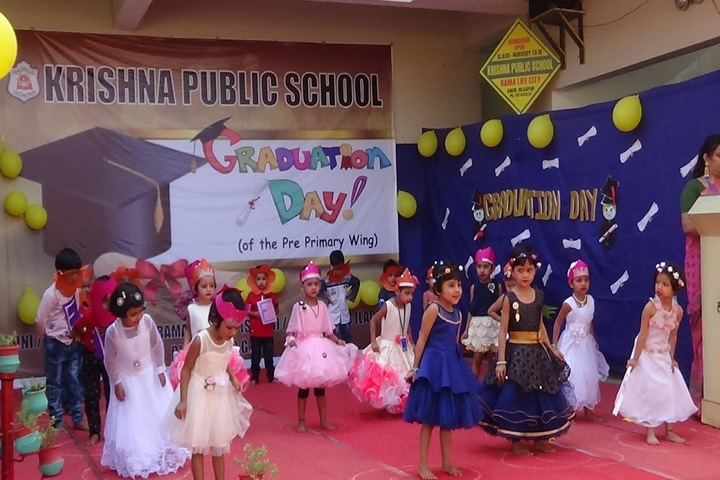 KRISHNA PUBLIC SCHOOL,BILASPUR-gradudation day