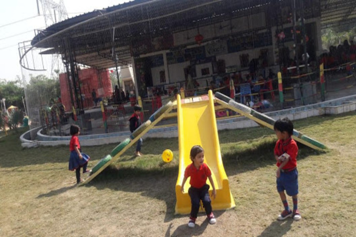 KRISHNA PUBLIC SCHOOL,BILASPUR-play area