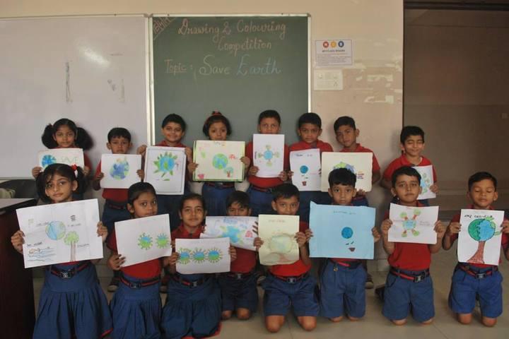 KRISHNA PUBLIC SCHOOL,PULGAON, DURG-earth day
