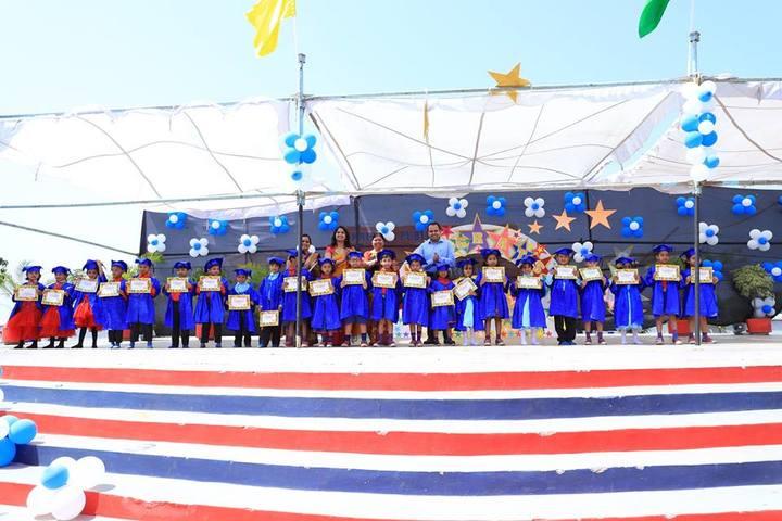 KRISHNA PUBLIC SCHOOL,PULGAON, DURG-graduation day