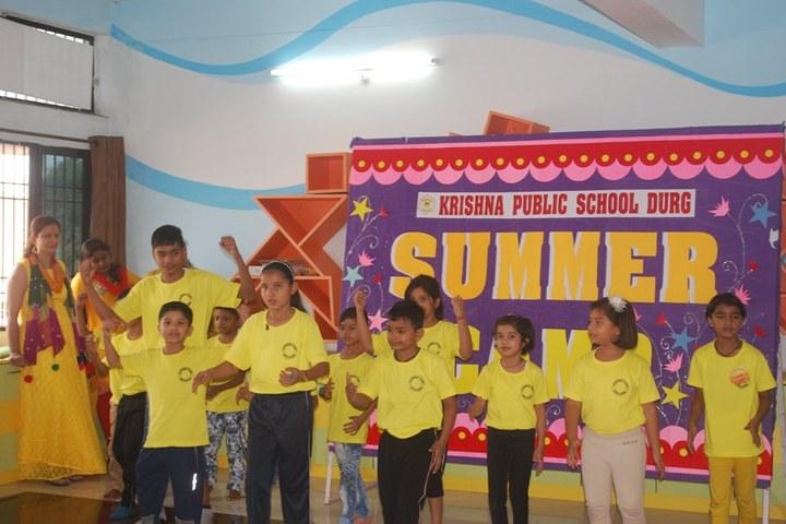 KRISHNA PUBLIC SCHOOL,PULGAON, DURG-summer camp