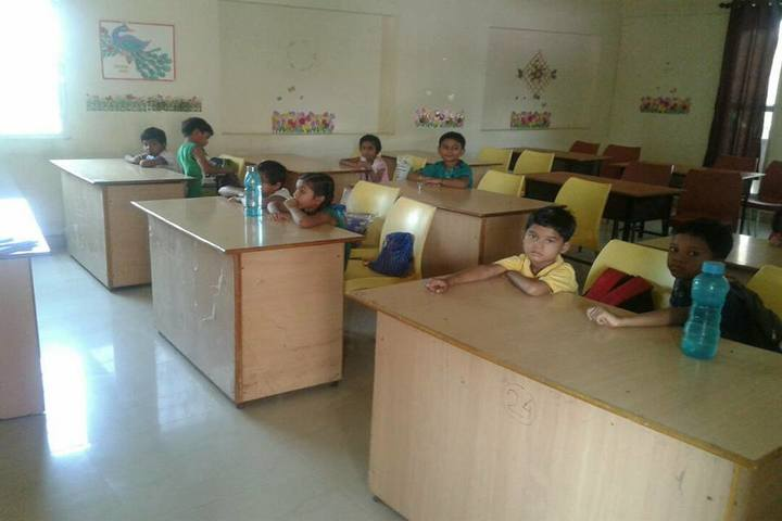 L.B.S. Global Public School Baloda Classroom