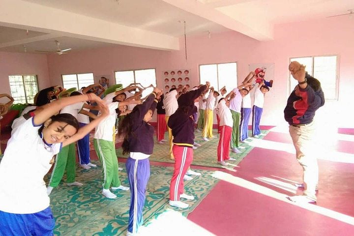 L.B.S. Global Public School Baloda Yoga
