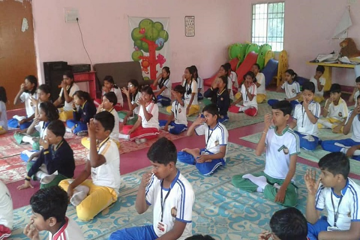 LBS Global Public School Baloda Yoga