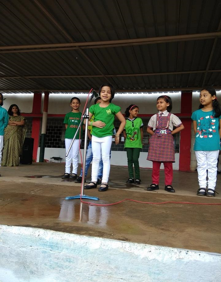 Lions Dav Public School-Singing