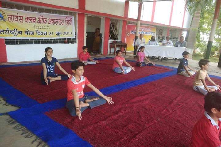 Lions Dav Public School-Yoga1