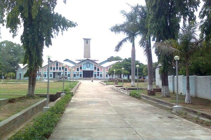 Loyola Higher Secondary English Medium School-building
