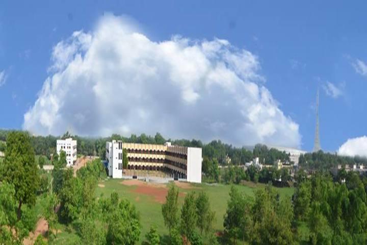 Loyola School Bilaspur-Areial View