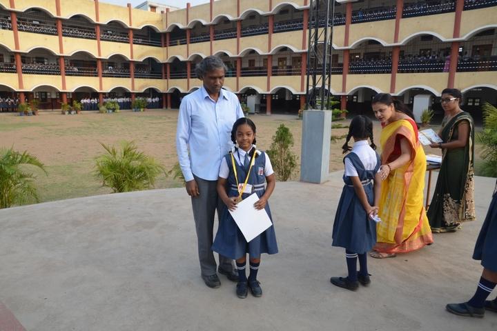 Loyola School Bilaspur-award