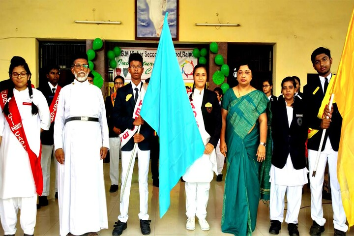 M G M Higher Secondary School-Investiture Cermony