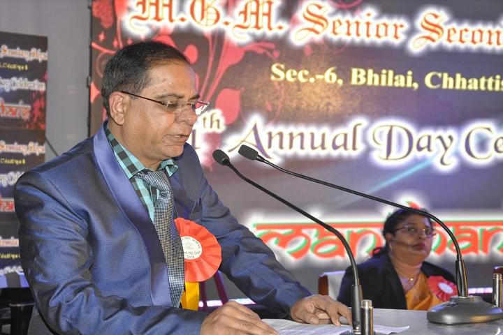 M G M Sr Sec School-Deligate speech