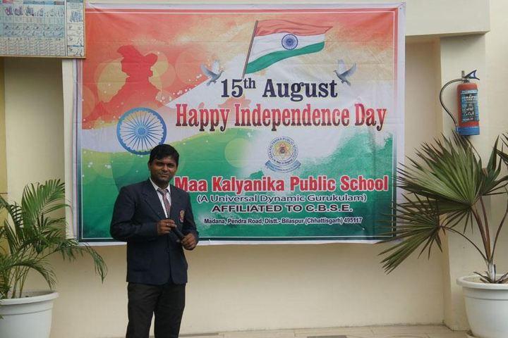 Maa Kalyanika Public School-independence day