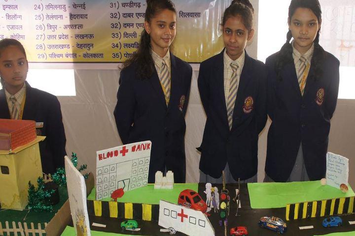 Maa Kalyanika Public School-science exhibition