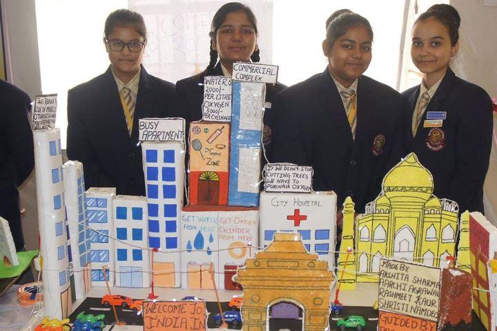 Maa Kalyanika Public School-science exhibition1