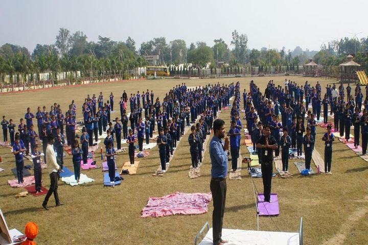 Maa Kalyanika Public School-yoga