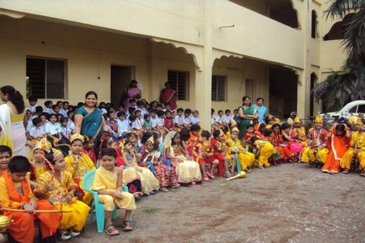 Maharishi Vidya Mandir-Janmastami Celebrations